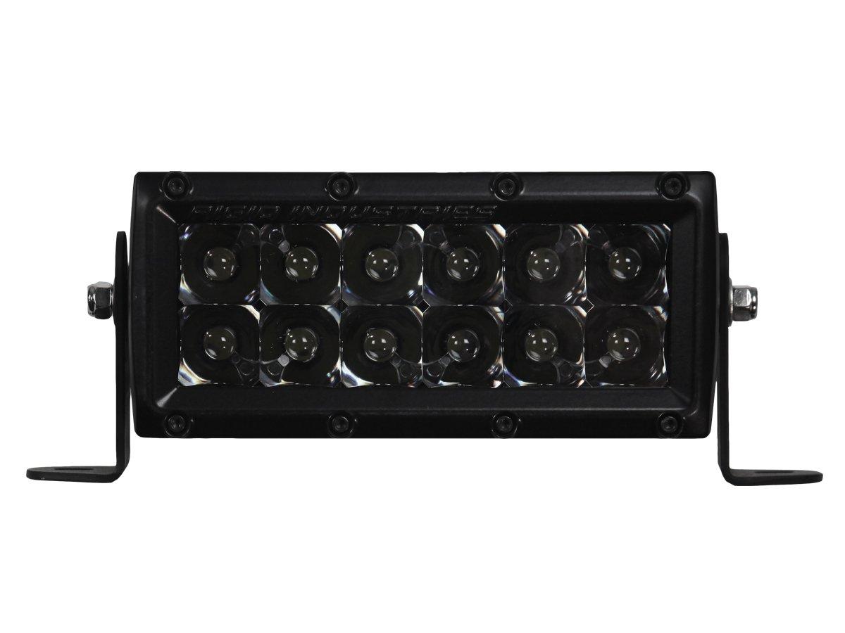 Rigid Industries 106212BLK E-Series Midnight Edition Black 6'' Spot Optic