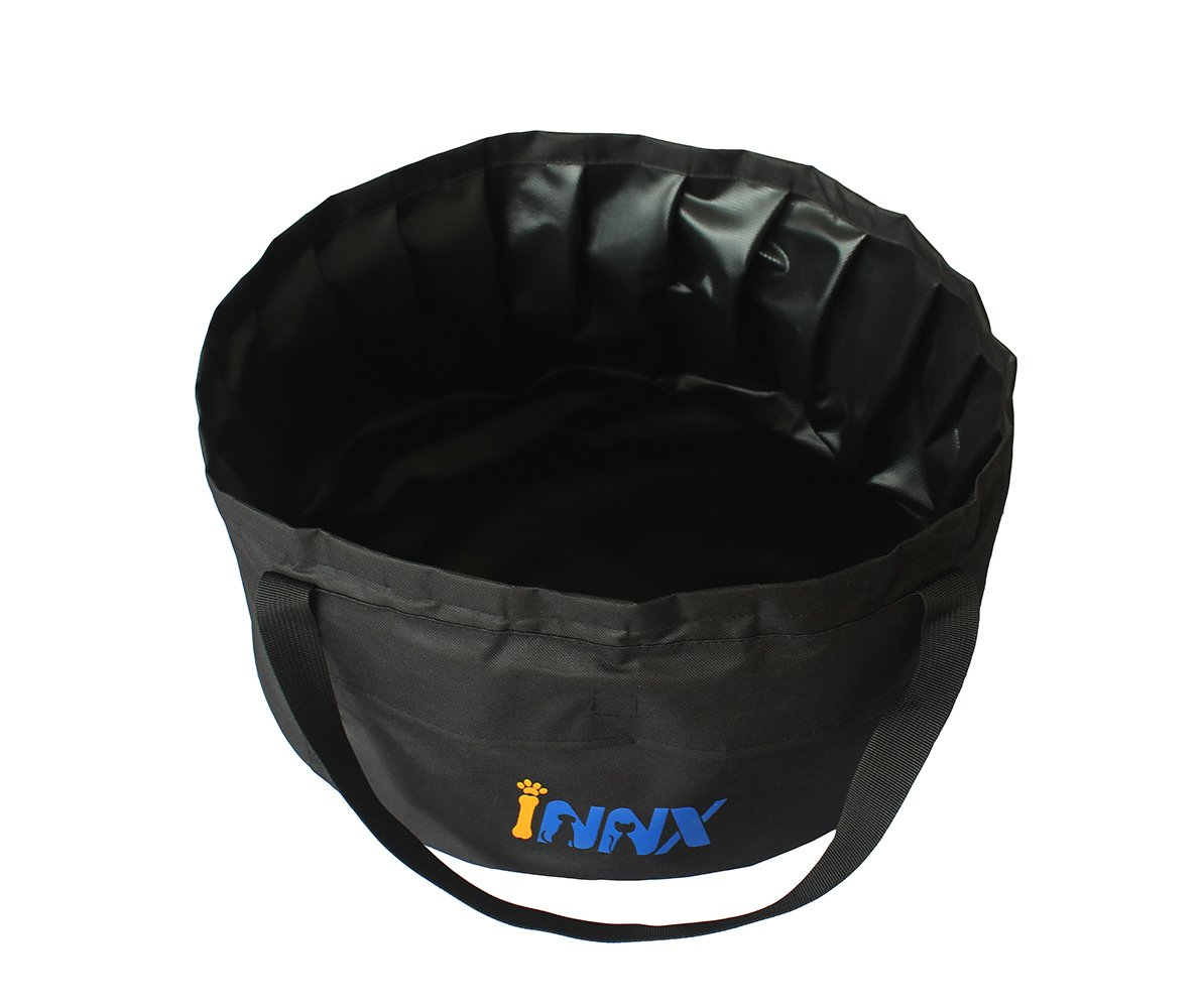 INNX Wash Basin for Outdoor, Camping Water Storage, Pet Bath Swimming Pool for Cat Puppy Dog in Outdoor/Indoor/Travel