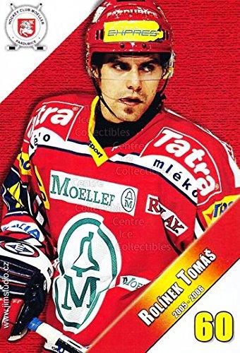 fan products of (CI) Tomas Rolinek Hockey Card 2005-06 Czech HC Pardubice Postcards 14 Tomas Rolinek