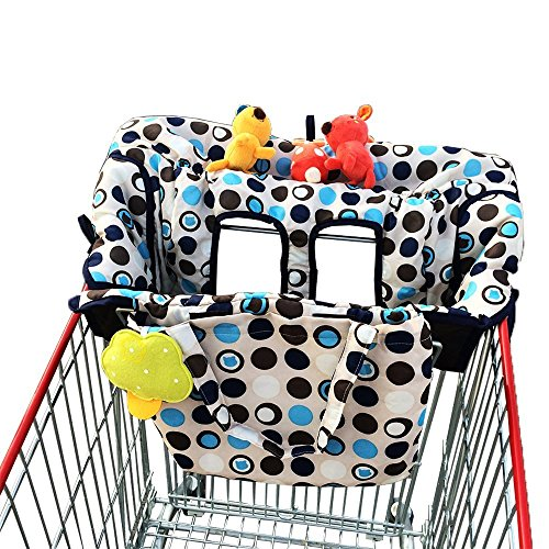 (Limited Time Sale $19.99!) crocnfrog 2-in-1 Shopping Cart & High Chair Cover
