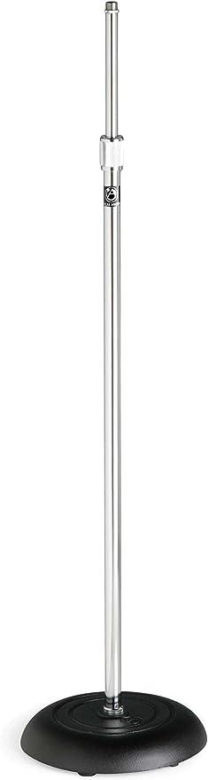 Atlas Sound MS-10C Round Base All-Purpose Mic Stand Chrome