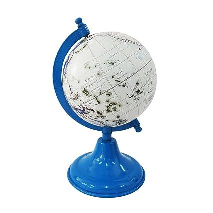 indio hecho a mano mapa del mundo de la forma redonda decorativa ...