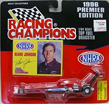 1996 Premier Edition Racing Champions - 1:64 Diecast Top Fuel Dragster -  Blaine Johnson
