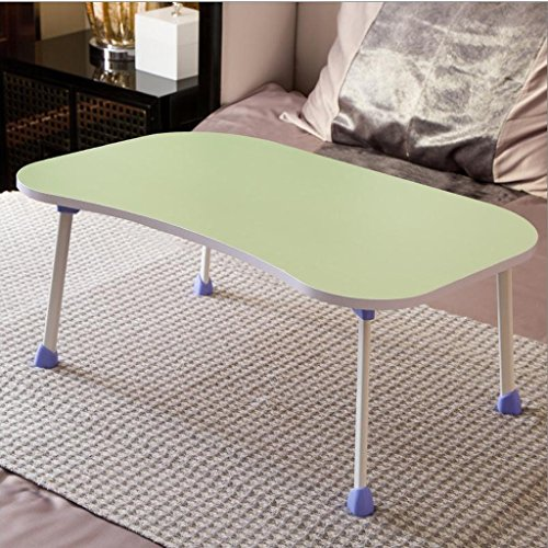 GZH Laptops Table Folding Portable Bed Upper Use Dorm Learn Small Book Desk Rectangle (Color : 6#) by GZH