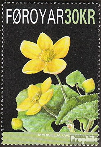 Denmark - Faroe Islands 646 (Complete.Issue.) 2008 Nationalblume The Faroe Islands (Stamps for Collectors) Plants