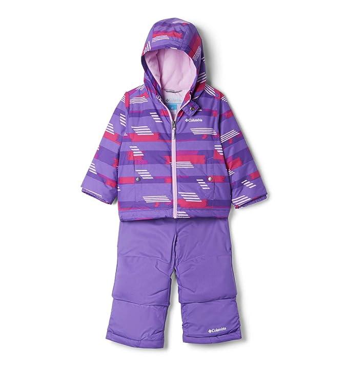 Columbia Kids' Toddler Frosty Slope Set, Grape Gum Strokes, 3T