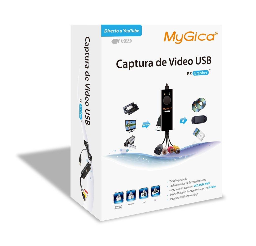 mygica ez grabber  : USB Video Capture Card-MyGica EZ Grabber2 -One Touch ...