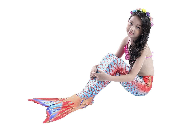 Costume Da Bagno Sirena : Gtkc nuova ragazza bambini costume cosplay costumi da bagno