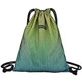 GADEWAKE Men & Women Sport Gym Sack Drawstring Backpack Bags Travel Storage Gradient Color Sackpack Shoulder Bags For Sale