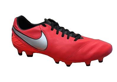buy online f2f44 204ce Nike Tiempo Mystic V FG Soccer Football Shoes Light Crimson Total Crimson-Metallic  Silver