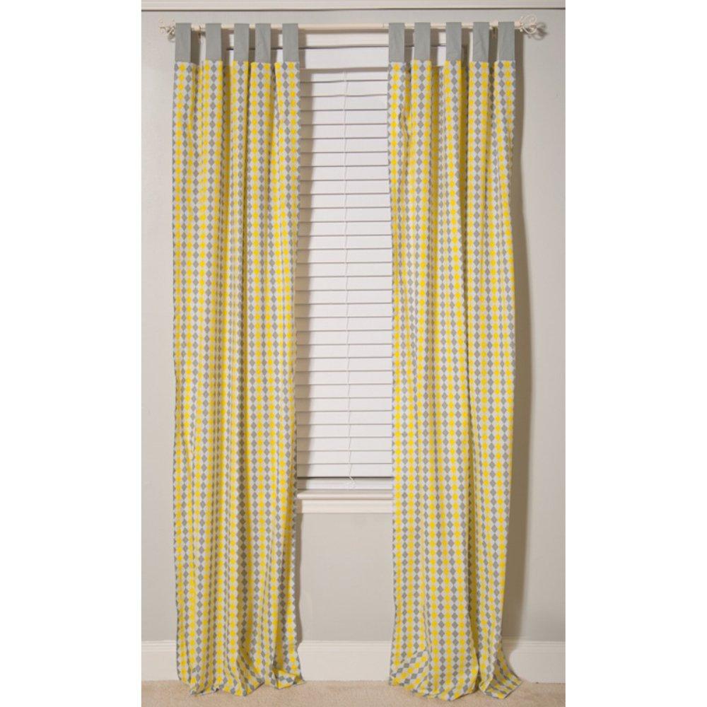 Pam Grace Creations Window Panel, Yellow, 34'' x 84''