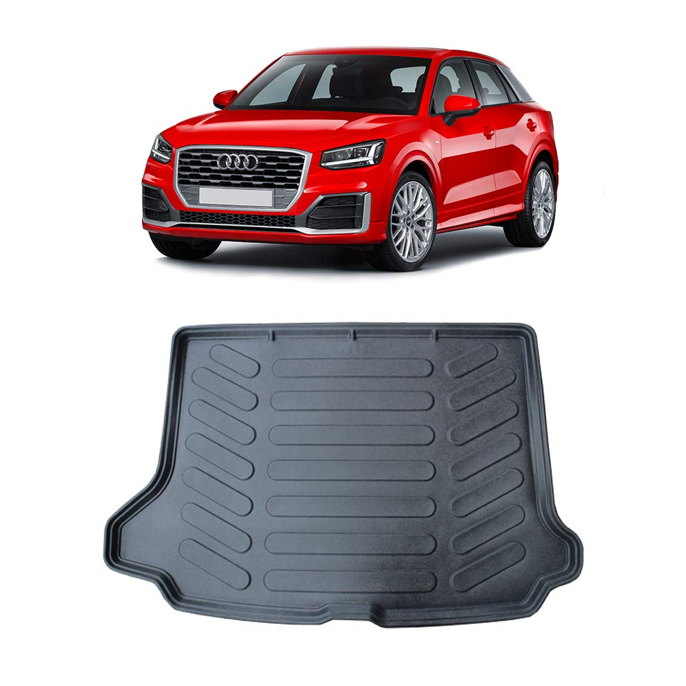 liner tray protector tailored fit black waterproof Car Mats Bespoke Q2 boot mat 2016 Onward