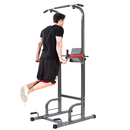 Fitness-Kleingeräte & -Zubehör Fitness & Jogging New Multi Function Pull Up Dip Station for Indoor Home Gym Strength Training