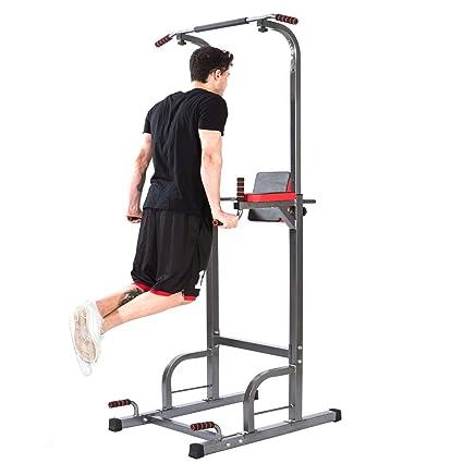 Amazon Com Lx Free Power Tower Home Gym Adjustable Multi