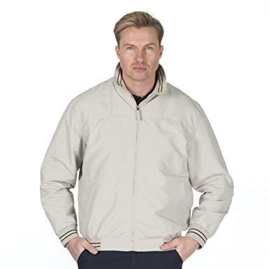 828332463 Magneto Men's Microfibre Bomber Jacket (Sizes M-2XL) Classic Zip Up Summer  Coat with Pockets