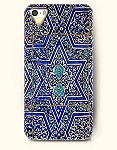 THYde OOFIT Apple ipod Touch4 Case Moroccan Pattern ( Blue Hexagon ) ending