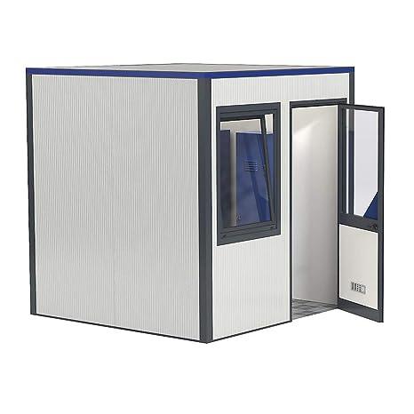 Prefab oficinas, panel para techo, ambos lados, blanco puro RAL 9010, blanco puro RAL 9010.: Amazon.es: Industria, empresas y ciencia