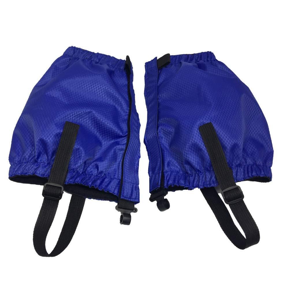 Azul para Ciclismo al Aire Libre Senderismo Monta/ña Trekking Esqu/í Escalada Caza Aesy Legging Polainas Cubierta Protectora Duradera Impermeable para la Pierna Ligera Nieve Polainas
