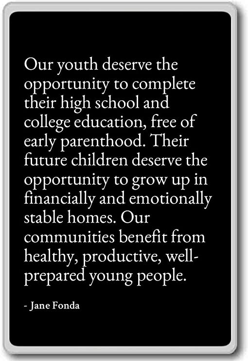 com our youth deserve the opportunity to complete th