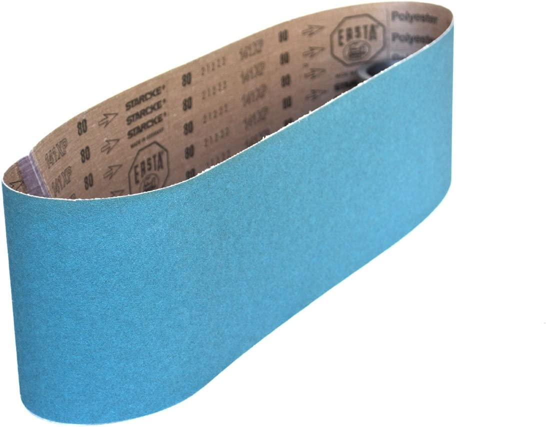 6 Pack 36 Grit Sanding Belts 2 X 48 Zirconia Cloth Sander Belts