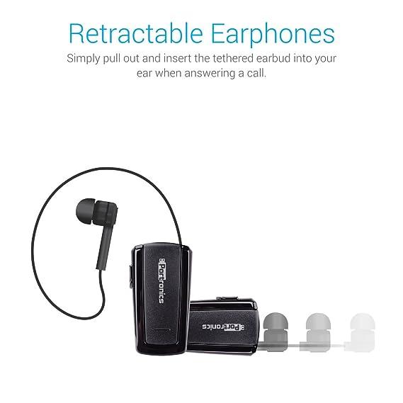 4a94e8dff1d Portronics Harmonics 101 Retractable Bluetooth In-Ear: Amazon.in:  Electronics