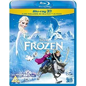 Frozen [Blu-ray 3D + Blu-ray] [Region Free]