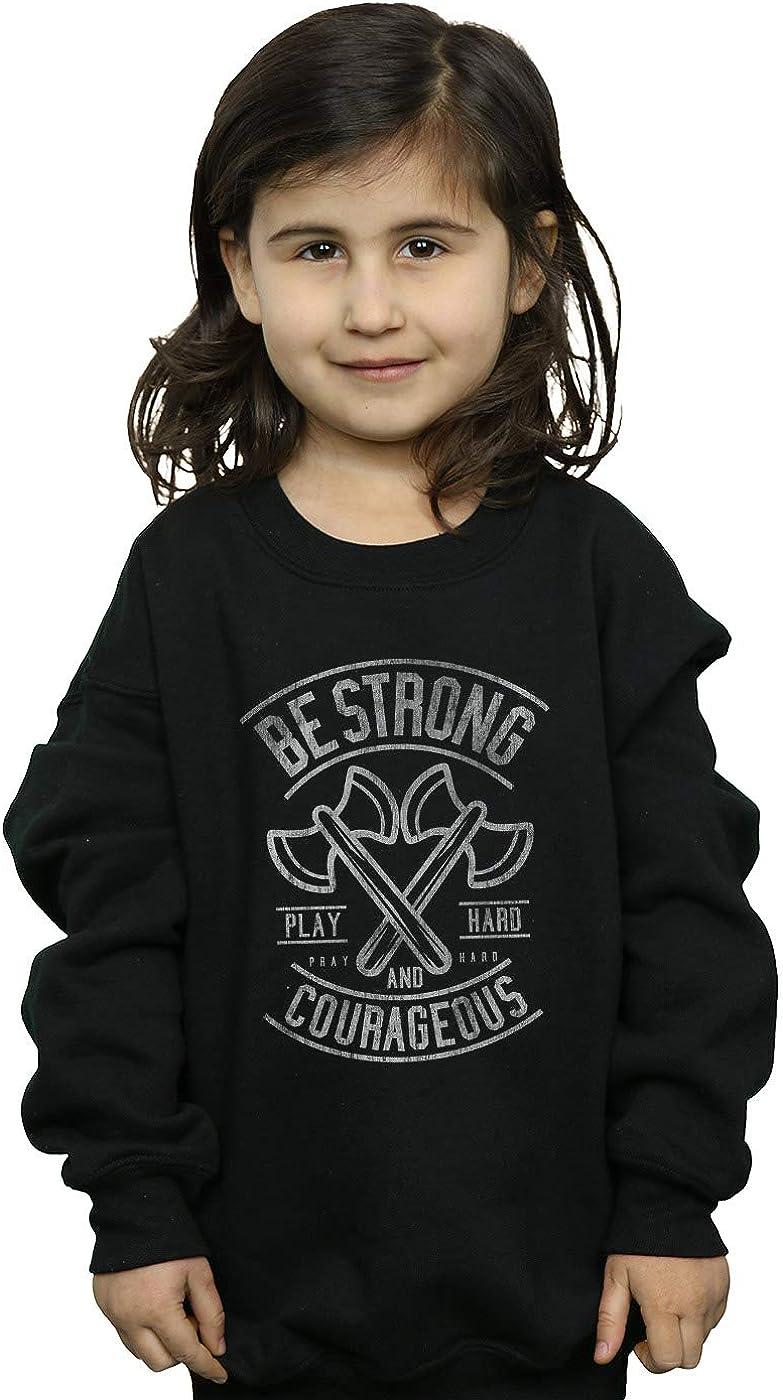 ABSOLUTECULT Drewbacca Girls Be Strong Sweatshirt