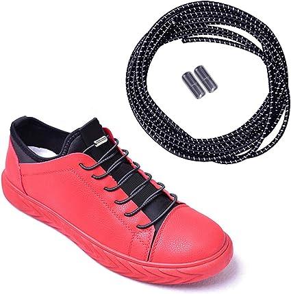 Sports No Tie Trainer Runners Mulitcolor Color Elastic Lock Shoe Laces Unisex