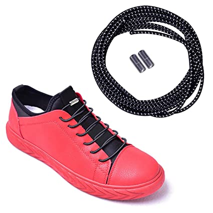 4d088af976853 Amazon.com: Siaomo Elastic No Tie Shoelaces for Adults and Kids ...