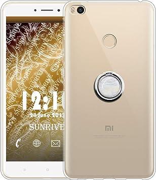 Sunrive Funda para Xiaomi Mi MAX 2, Silicona Slim Fit Gel ...