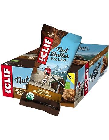 Barrita energética de avena rellena de crema de chocolate y avellanas BIO - CLIF - caja