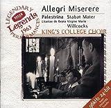 Classical Music : Allegri: Miserere / Palestrina: Stabat Mater