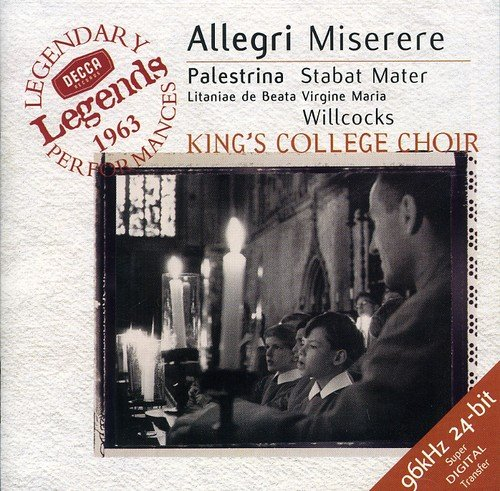 College Legends (Allegri: Miserere / Palestrina: Stabat Mater)