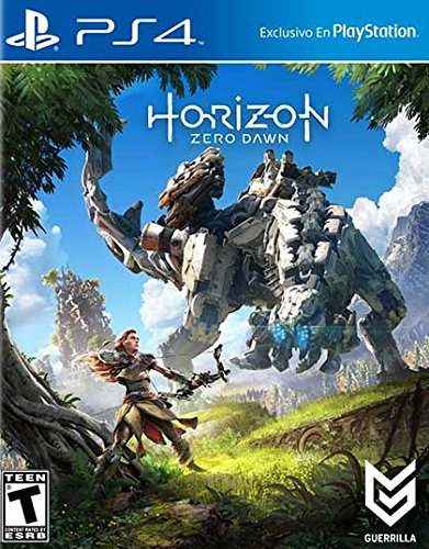PS4 Horizon Zero Dawn (No Case/ENGLISH Disc Only/Plays in English/Authentic!)