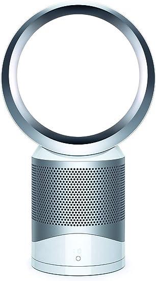 Dyson 305218-01 Pure Cool Link mesa-Purificador/Ventilador (56 W de potencia, 63 dBa nivel de sonido, filtro HEPA, 334 litros/seg) color, 40 Decibeles, metal, plástico, 10 Velocidades, Plata, Blanco: Amazon.es: Hogar