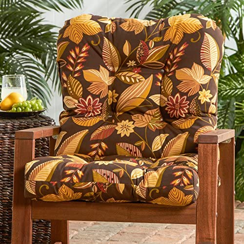 Cheap Greendale Home Fashions Outdoor Seat/Back Chair Cushion outdoor chair cushion for sale