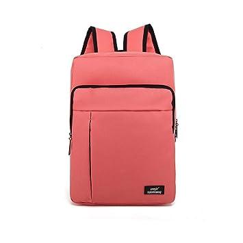 upsun (wenjie) lona mochila para portátil bolso de escuela de viaje mochila trabajo de la mochila rosa talla única: Amazon.es: Electrónica