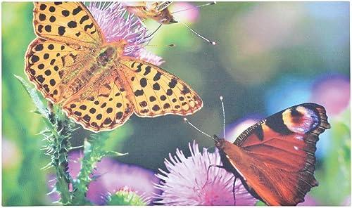 Esschert Design RB187 Doormat Butterflies