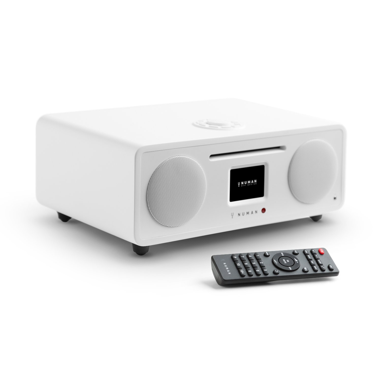 NUMAN Two 2.1 - Radio por Internet , Sintonizador Dab/Dab+ y FM , Spotify Connect , Reproductor CD , Pantalla TFT , WiFi/LAN , Bluetooth , AUX , 2 ...