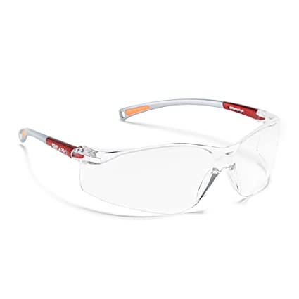 d7c0e51b79 EyeArmour Antifog Safety Glasses for Men and Women | Wraparound Eye  Protection Goggles with Antiscratch Lenses (Clear)