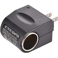 Leoie Universal Output AC Wall to DC Car Cigarette Lighter Power Converter Socket Adapter (US Plug)