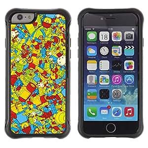 """Pulsar iFace Series Tpu silicona Carcasa Funda Case para Apple (4.7 inches!!!) iPhone 6 , Wallpaper Juguetes para niños coloridos Reproducción"""""""