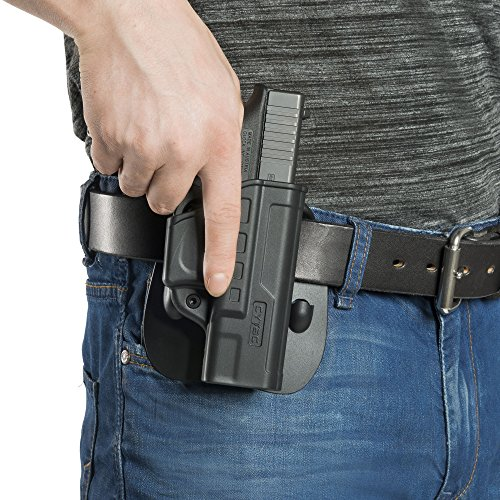 NEW! Fast Draw Right-Hand Glock OWB Adjustable Paddle Holster, for Glock  19, 23,32 Gen 1 2 3 4 , Outside Waistband Tactical Pistol Holster, Best for