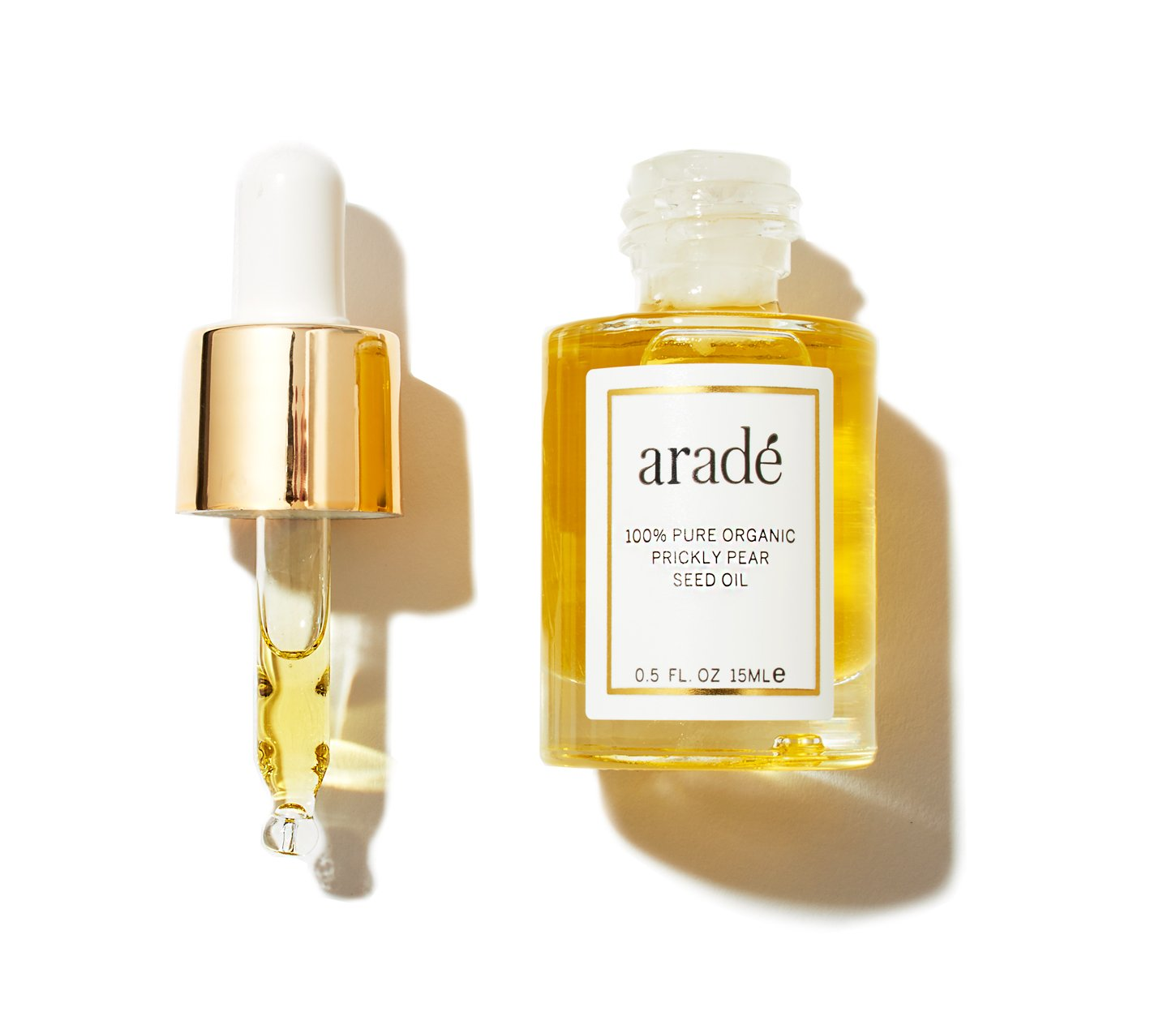 Arade Prickly Pear Seed Oil for Face, Skin & Neck, Topical Facial Oil & Serum by Aradé Beauty With 100% Pure Organic Barbary fig Oil (Prickly Pear Oil) 0.5 fl oz. AR-PP