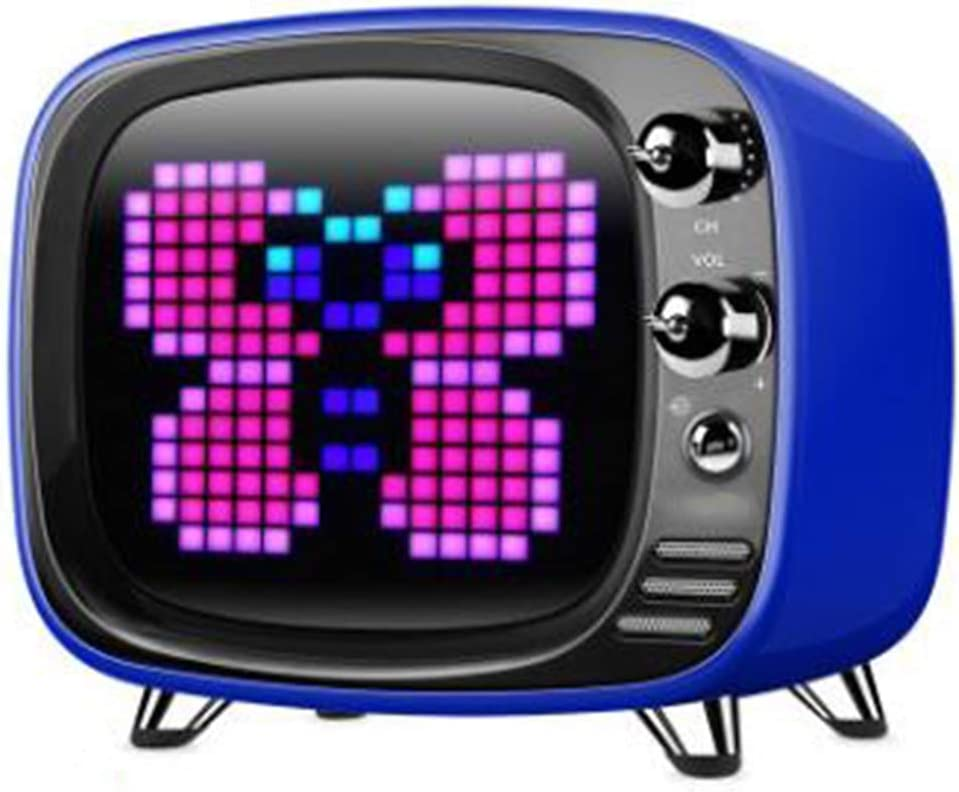 CZWNB - Altavoz Bluetooth portátil Mini inalámbrico para televisor pequeño Pixel: Amazon.es: Electrónica