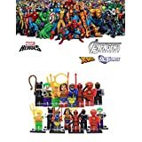 ABG toys Minifigures MARVEL DC Comics Avengers X-Men Super Heroes Minifigure Series Building Blocks Sets Toys