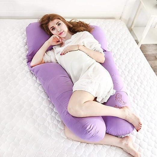 WZF Almohada para el Embarazo Almohada para Dormir del Lado ...