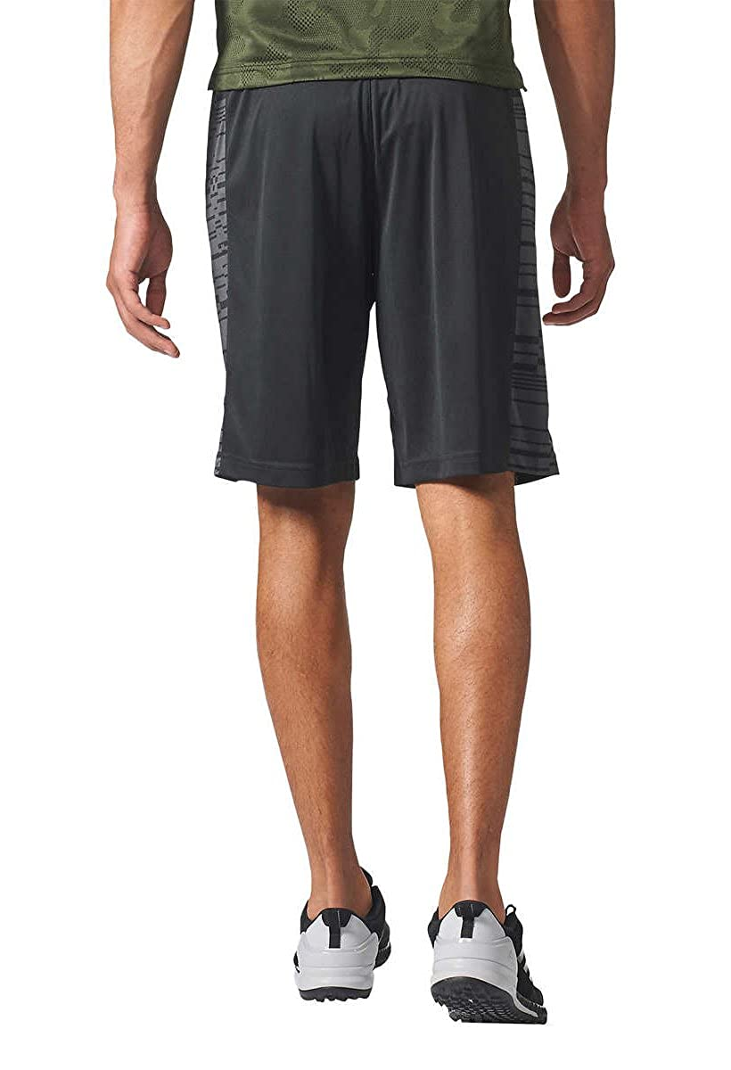 ada37dde34485 adidas Mens Performance Glitch Panel Climalite Gym Athletic/Workout Shorts  at Amazon Men's Clothing store: