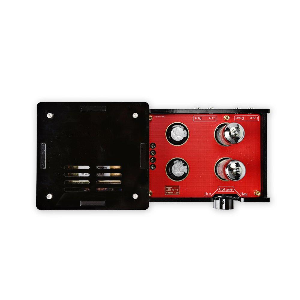 SainSmart Assembled 6N3 Hifi Buffer Audio Tube Headphone Amplifier Pre-amp Kit with Transformer by SainSmart
