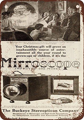 1910 Buckeye Steropticon Mirroscopio Proyector Vintage Look ...